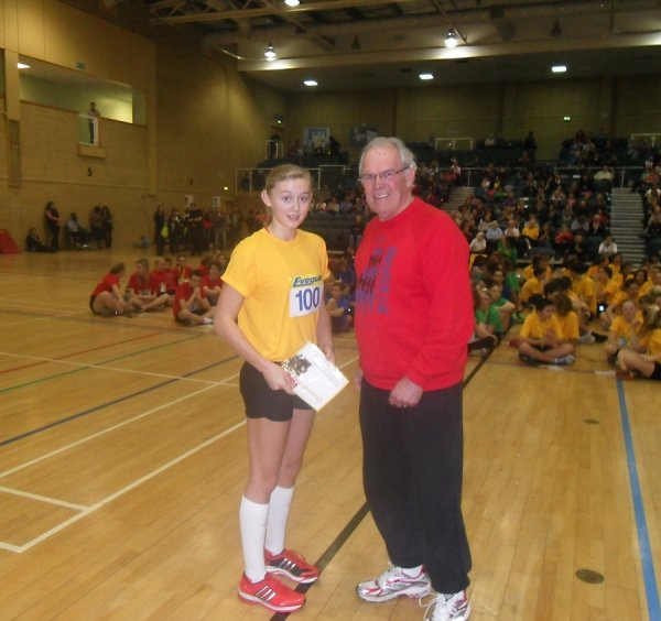 Millie Cavanagh, first overall Under 15 Girl