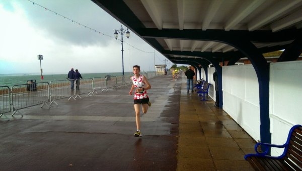 Alexandre Lesaulnier in the Great South Run 5K