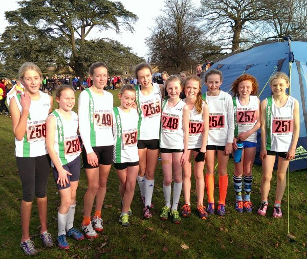 Under 13 Girls' team