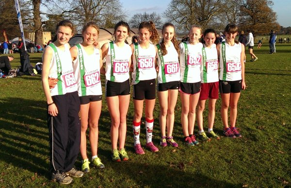 Under 15 Girls' team