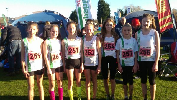 Under 13 Girls team