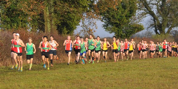Senior Men's race at Popham