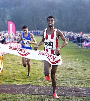 Mahamed Mahamed - Senior Men's English National Cross-Country Champion